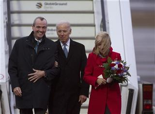 Joe Biden, Jill Biden, Philip D. Murphy