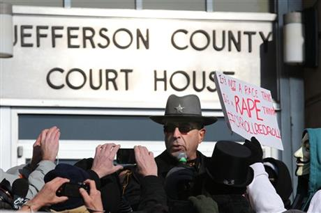 Protests in Steubenville rape case