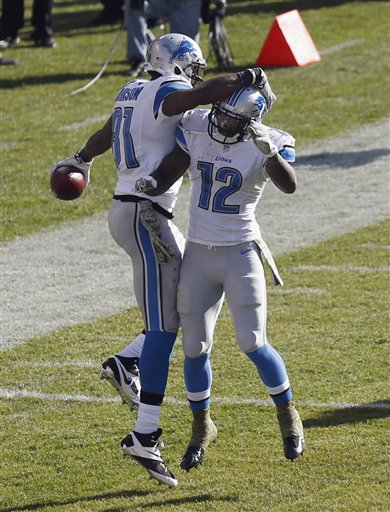 Calvin Johnson, Jeremy Ross