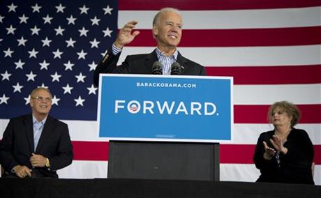 Joe Biden, Autumn Collins-Widen, Ted Strickland