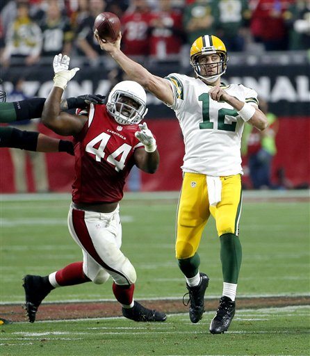 Aaron Rodgers, Markus Golden