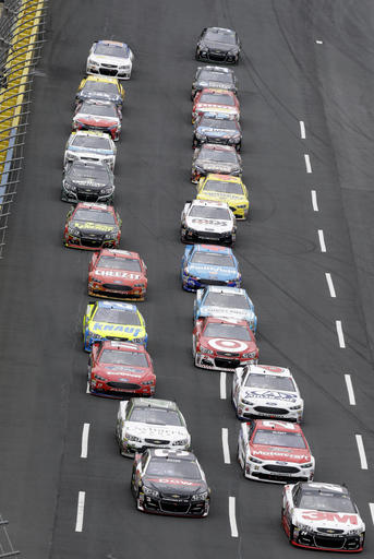 NASCAR Charlotte Sprint Showdown Auto Racing