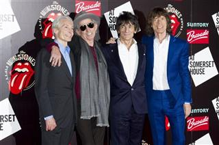 Charlie Watts, Keith Richards, Ronnie Wood, Mick Jagger
