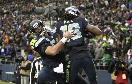 Max Unger (60), Sidney Rice