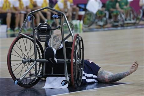 London Paralympics Wheelchair Basketball
