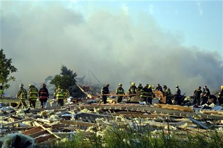 New York House Explosion