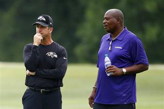 John Harbaugh, Ozzie Newsome