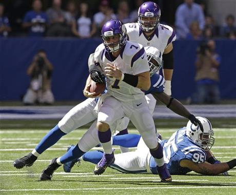 Robert Mathis,  Christian Ponder