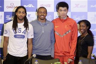 Jason Richardson, Aries Merritt, Xie Wenjun, Shelly-Ann Fraser-Pryce