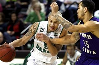Weber St North Dakota Basketball