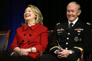 Hillary Rodham Clinton, Martin Dempsey
