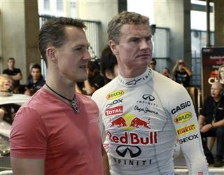 Michael Schumacher, David Coulthard