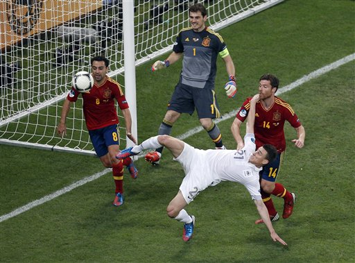 Soccer Euro 2012 Spain France