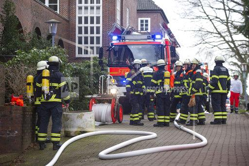 Residential fire in retirement home