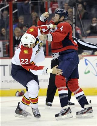 John Erskine, George Parros