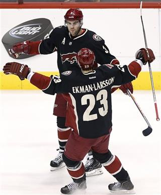 Keith Yandle, Oliver Ekman-Larsson