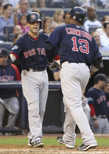 Carl Crawford, Dustin Pedroia