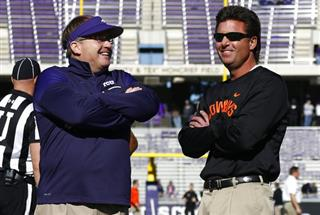 Gary Patterson, Mike Gundy