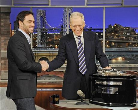 Jimmie Johnson; David Letterman
