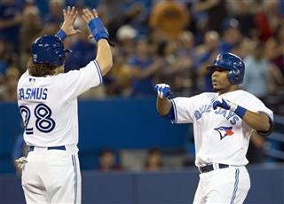 Colby Rasmus, Edwin Encarnacion