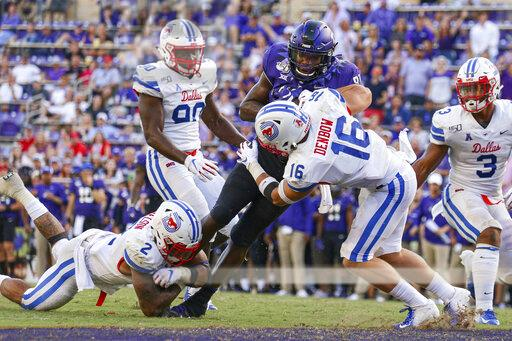 COLLEGE FOOTBALL: SEP 21 SMU at TCU