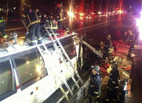 Boston Bus Crash
