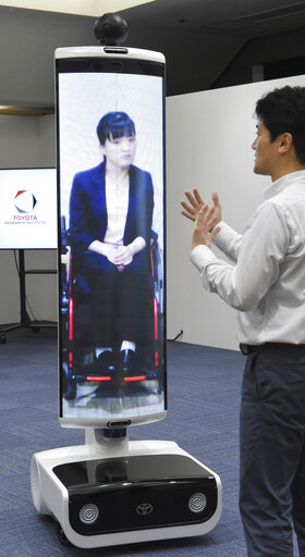 Robots for Tokyo Paralympic Games
