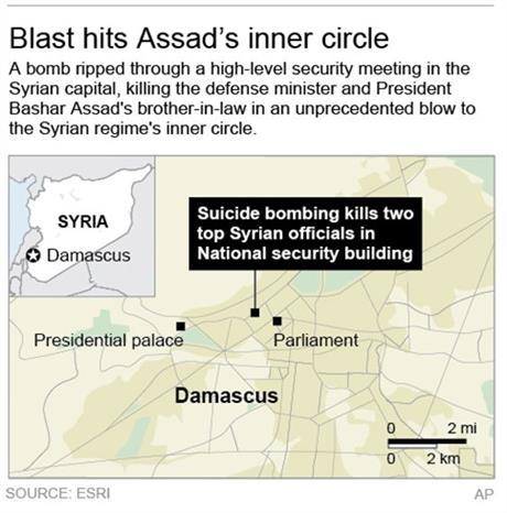 DAMASCUS BLAST