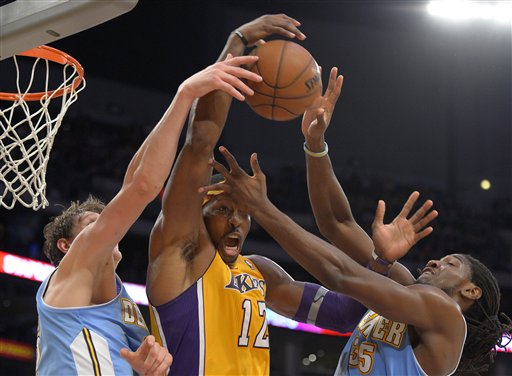 Dwight Howard,Timofey Mozgov, Kenneth Faried