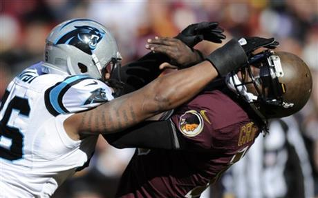 Greg Hardy, Robert Griffin III