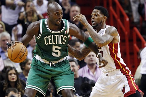 Kevin Garnett, Udonis Haslem