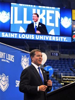 Travis Ford introduces as SLU basketball head coach