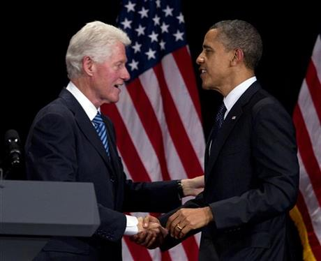 Bill Clinton, Barack Obama