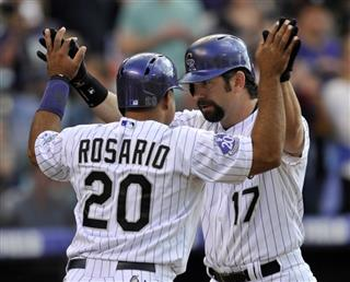 Todd Helton, Wilin Rosario