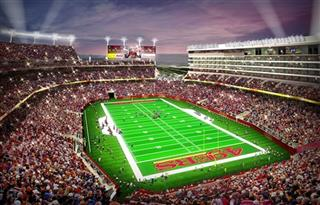 49ers Stadium Football