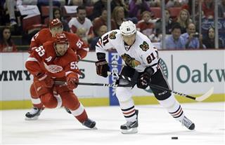 Niklas Kronwall, Marian Hossa