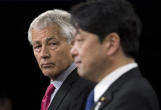 Chuck Hagel,  Itsunori Onodera