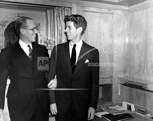 Associated Press Domestic News New York United States KENNEDY AND SON 1938
