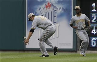 Garrett Jones, Andrew McCutchen