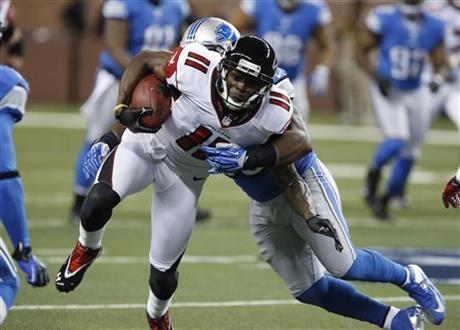 Stephen Tulloch, Julio Jones