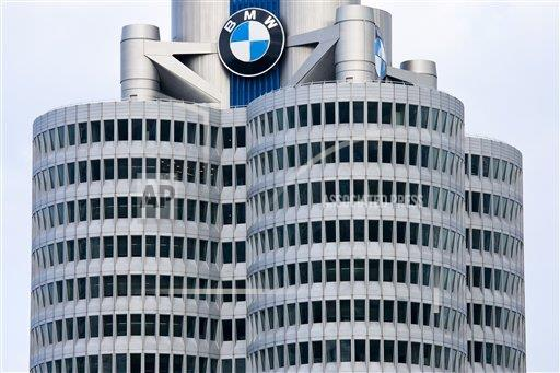 Creative Robert Harding Productions /AP Images A  Bavaria Germany 1161-5752 Modern architecture at the BMW Headquarters office blocks in Munich, Bavaria, Germany