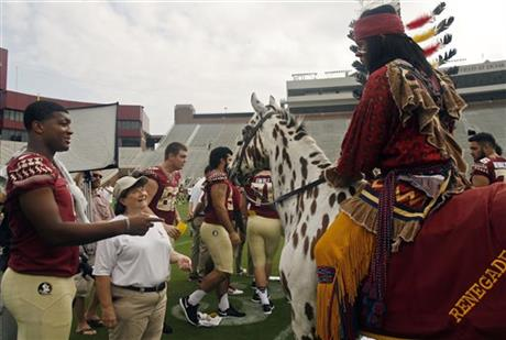 Jameis Winston, Chief Osceola, Renegade