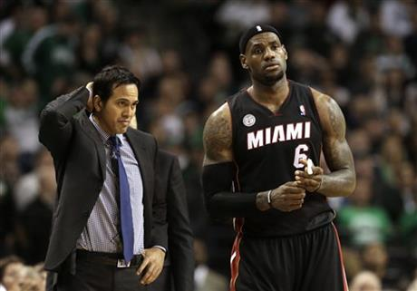 Erik Spoelstra, LeBron James