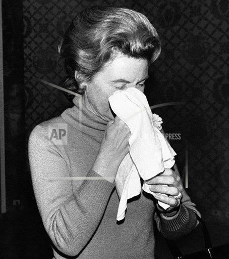 Watchf AP A  NY USA APHS262255 Phyllis Schlafly  Politician   Cleaning Face  Pie Thrown