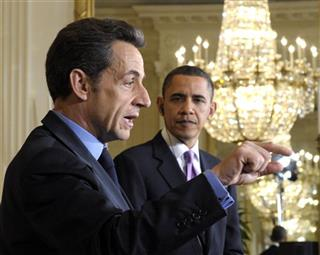 Nicolas Sarkozy, Barack Obama
