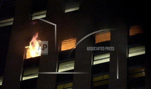 Associated Press Domestic News Illinois United States HIGH-RISE FIRE