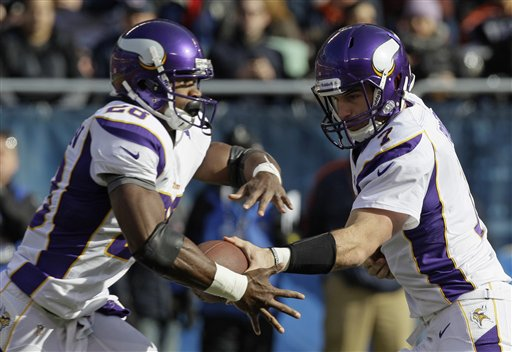 Christian Ponder, Adrian Peterson