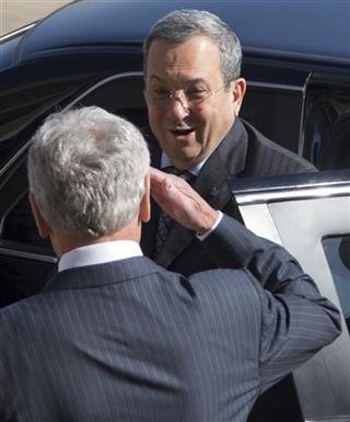 Ehud Barak, Chuck Hagel