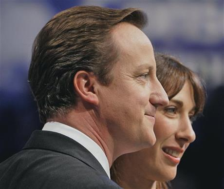 David Cameron, Samantha Cameron