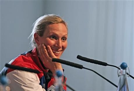 Britain OLY London 2012 Zara Phillips